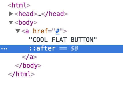 inspect element of button code